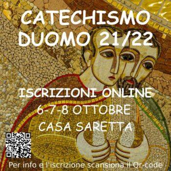 Iscrizioni al catechismo per l'anno 2021/2022